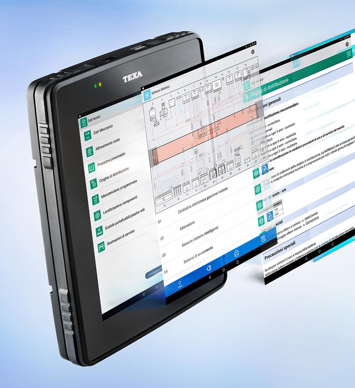 Scanner TEXA Axone 5 (vehículos livianos)