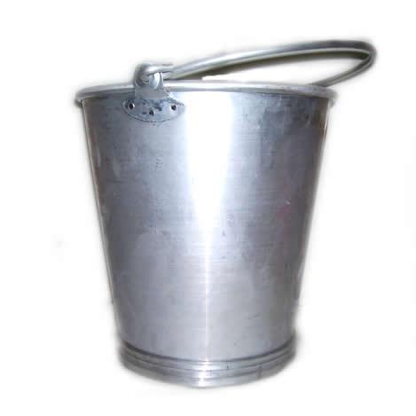 Baldes de aluminio 15 lts